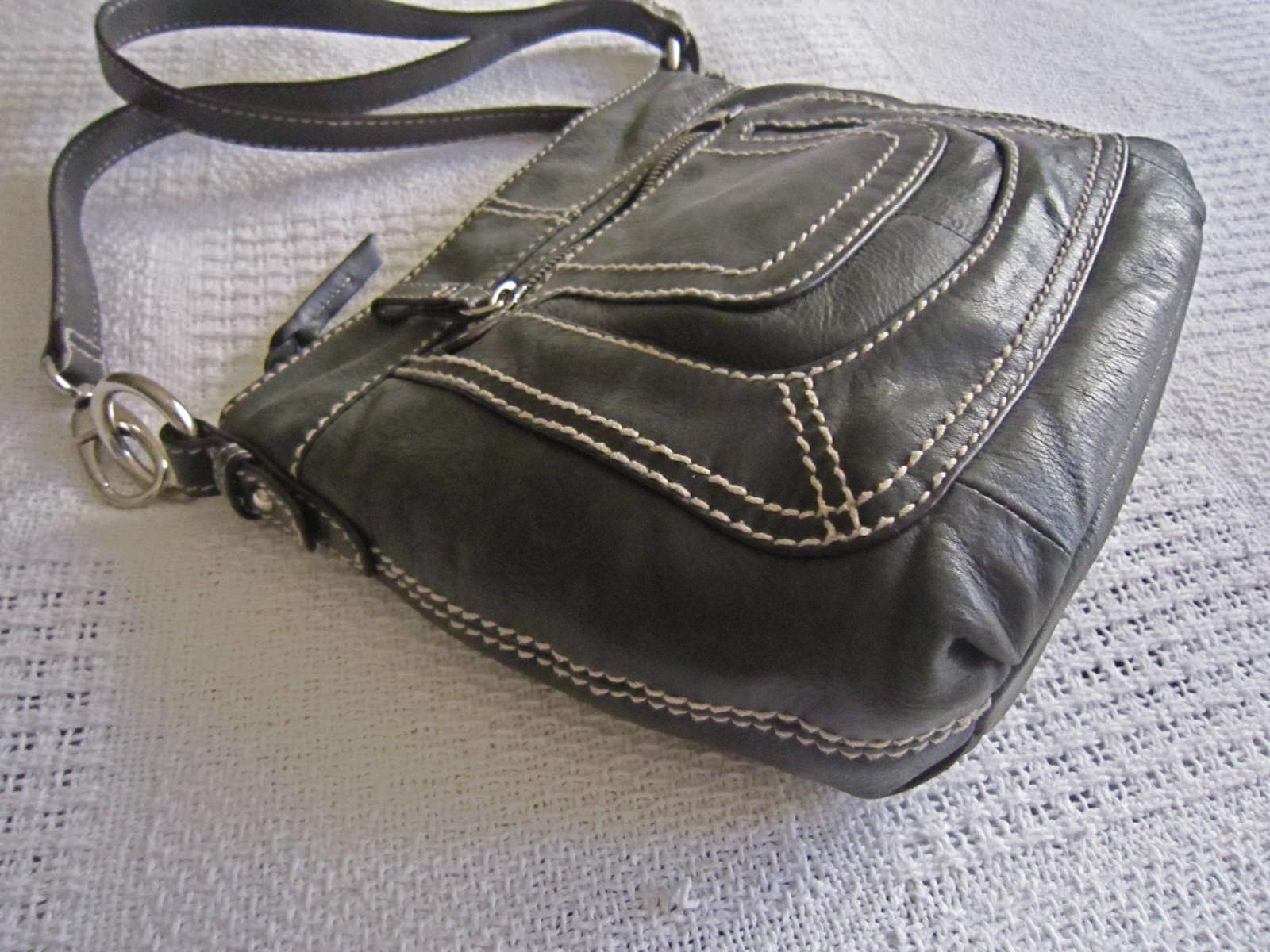 3b499a2fe974 Danier Black Leather Crossbody Bag - Luxurylana Boutique