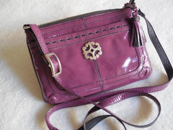 Brighton Brazos Pink Crossbody Bag