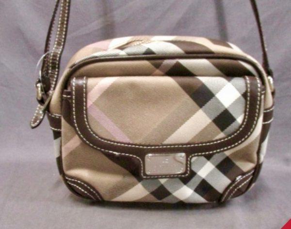 Burberry Blue Label Nova Check Crossbody Bag