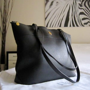 Christian Dior Vintage Leather Tote Bag