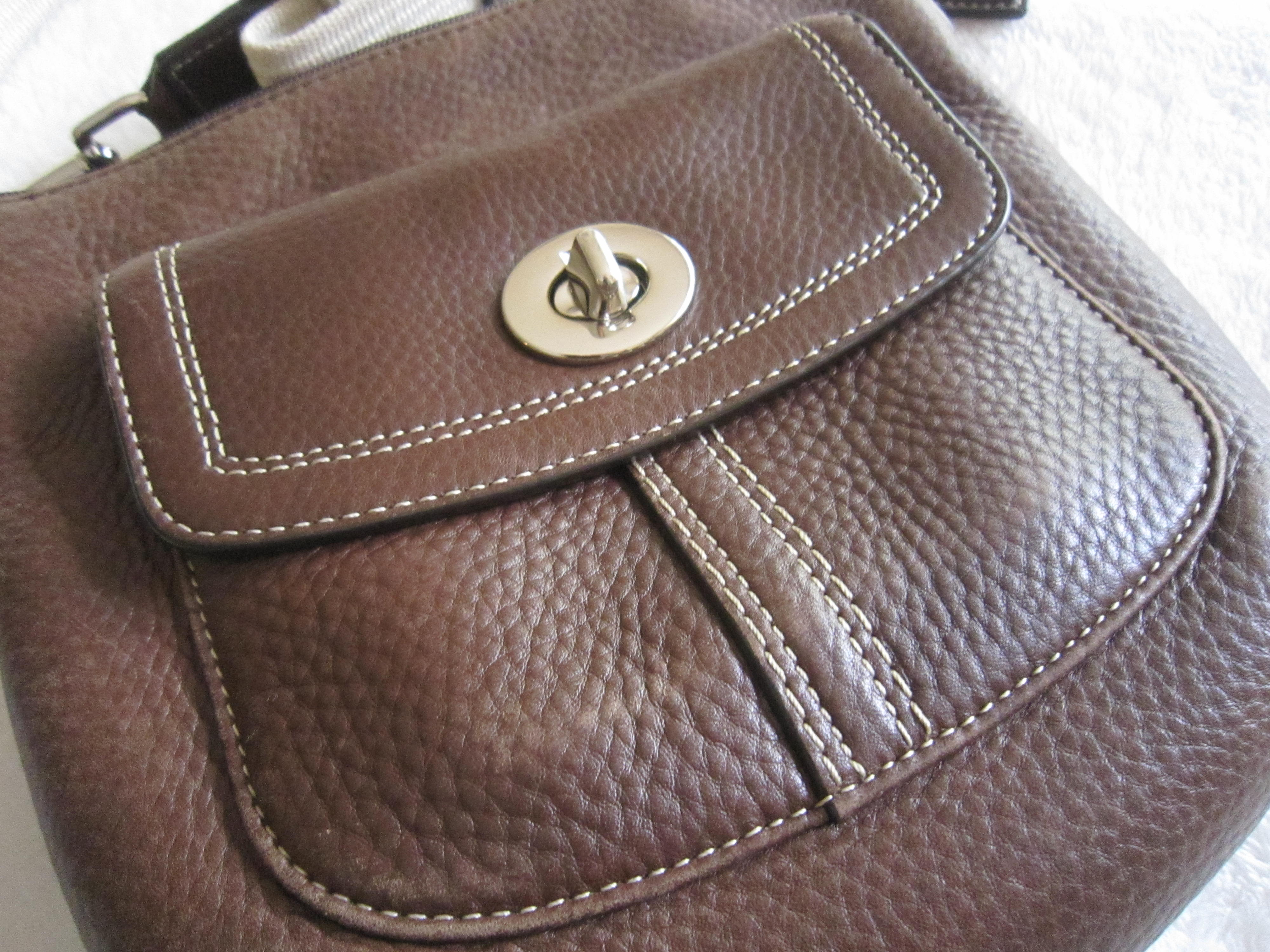 Coach Brown Park Crossbody Bag
