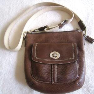 Coach Brown Park Crossbody Bag