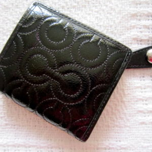 Coach Gramercy Embossed Small Bi-fold Wallet