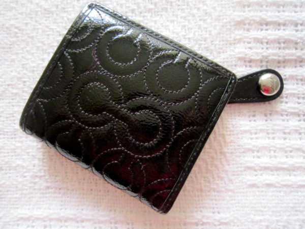 Coach Gramercy Embossed Small Bi-fold Wallet