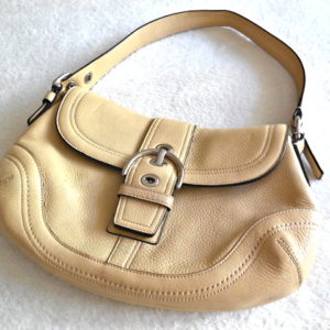 Coach Medium Tan Soho Hobo Bag