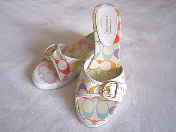 Coach Perry Multicolor Sandals