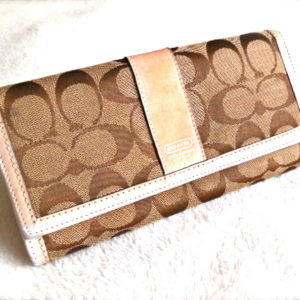 Coach Signature Long Wallet