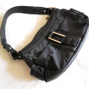 Furla Black Hobo Bag