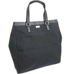 Gucci Canvas Black Large Tote Bag
