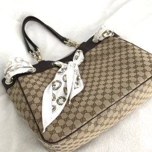 Gucci Positano Large Tote With Scarf