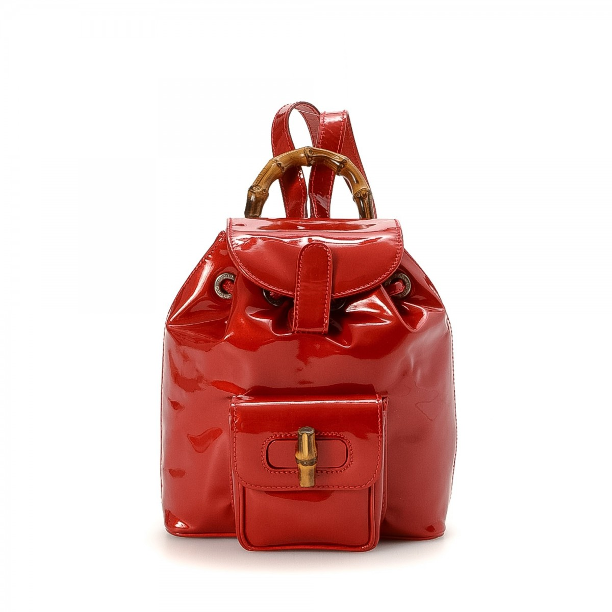 2e90396e3 Red Patent Leather Backpack | The Shred Centre
