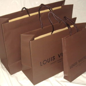 Louis Vuitton Paper Shopping Bag