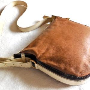 Lancel Brown Leather Crossbody