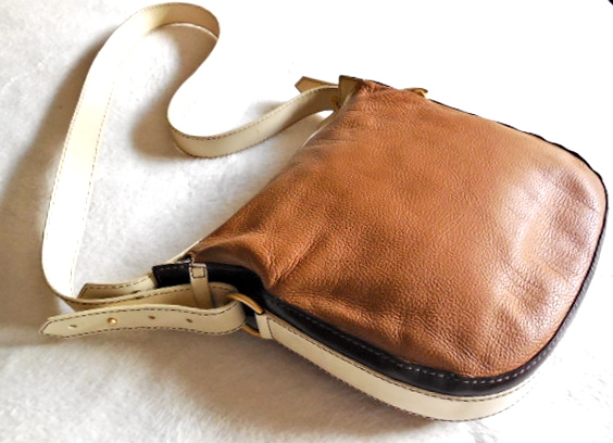 Lancel Brown Leather Crossbody