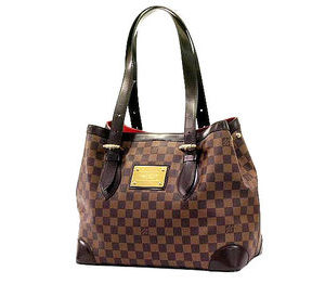 Louis Vuitton Hampstead MM Damier Ebene Tote Bag