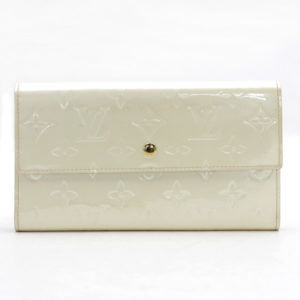 Louis Vuitton Porte Tresor Perle Vernis International Long Sarah Wallet