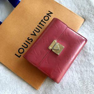 Louis Vuitton Koala Monogram Vernis Framboise Wallet
