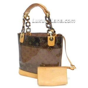 Louis Vuitton Monogram Cabas Ambre PM Tote Bag