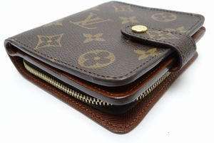 Louis Vuitton Monogram Compact Zip Wallet