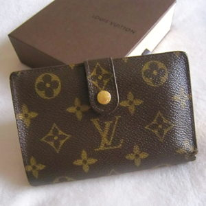 Louis Vuitton Monogram Porutomone Bievujenowa Bi-Fold Wallet