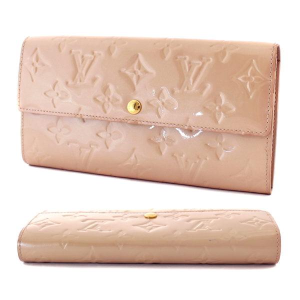 Louis Vuitton Monogram Vernis Sarah Florentine Long Wallet