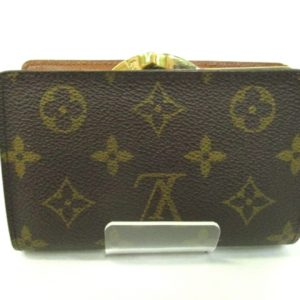 Louis Vuitton Monogram Viennois Bifold Kisslock Wallet