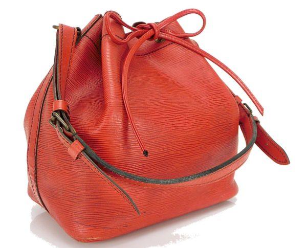 Louis Vuitton Petit Noe Red Epi