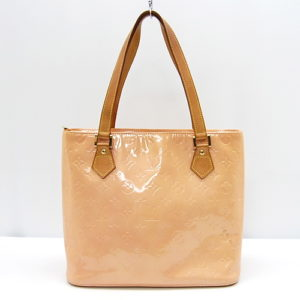 Louis Vuitton Rose Monogram Vernis Houston Handbag