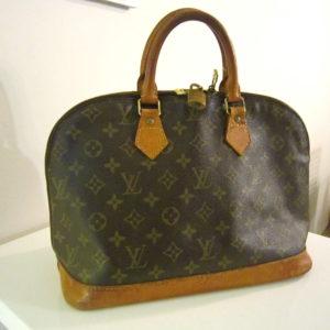 Louis Vuitton Vintage Monogram Alma Handbag