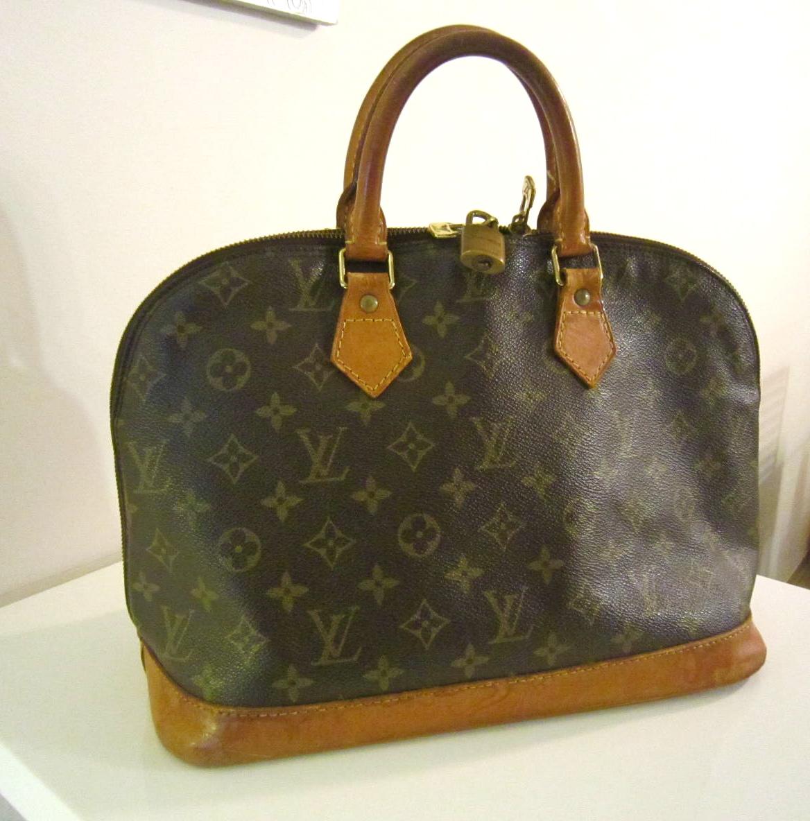 ddf5dc2ad60f Louis Vuitton Vintage Monogram Alma Handbag - Luxurylana Boutique
