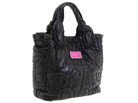 Marc By Marc Jacobs Black Signature Nylon Tote