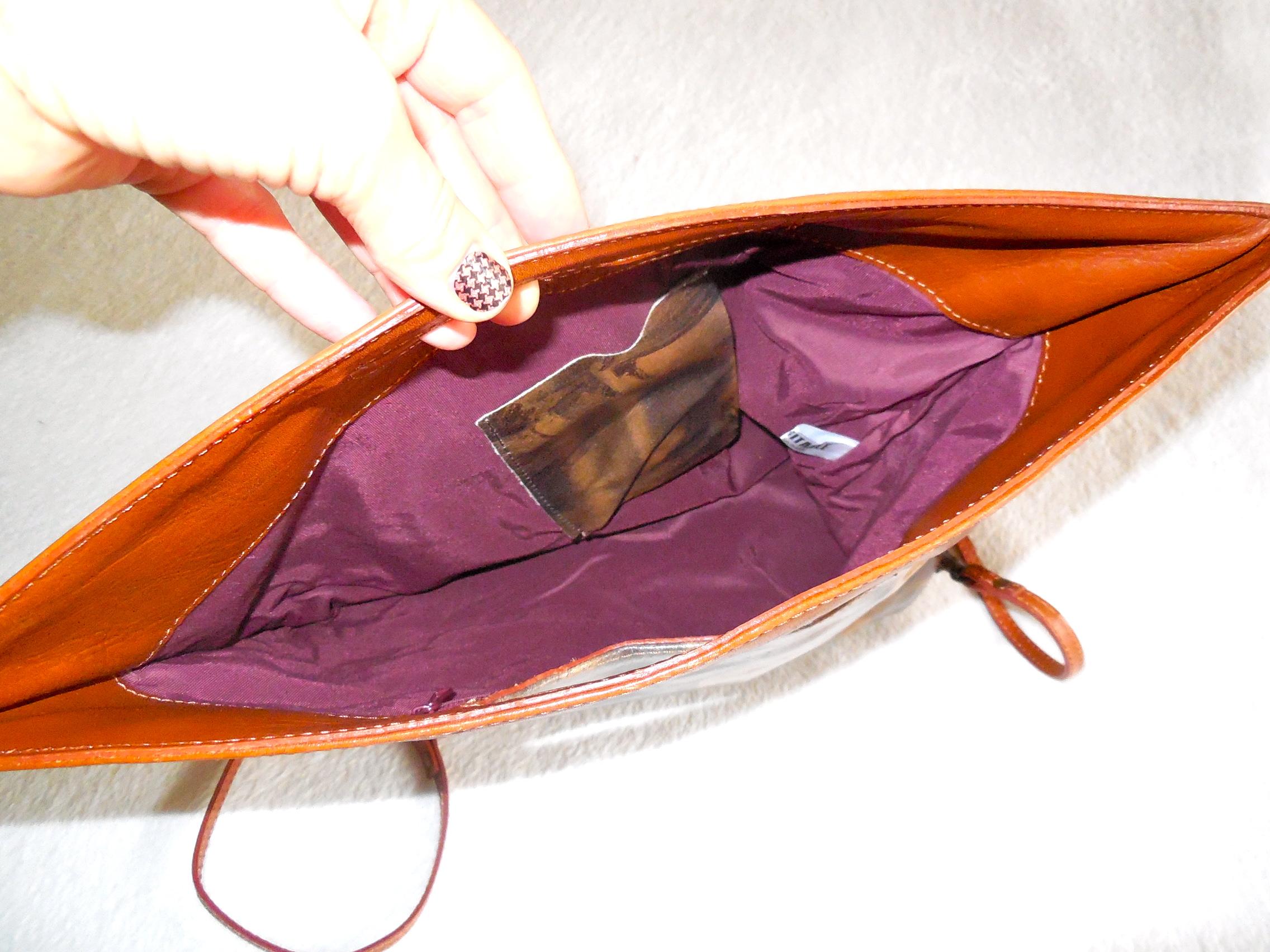 Maurizio Taiuti Leather Fl Crossbody Bag 3 Home