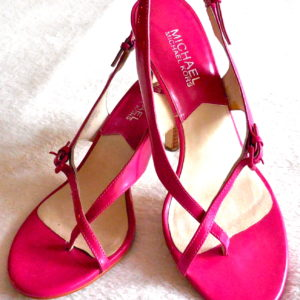 Michael Kors Pink Eleni Sandals