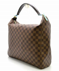 Louis Vuitton Damier Ebene Portobello GM Shoulder Bag