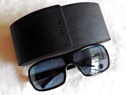 Prada Black Executive Aviator Sunglasses-1