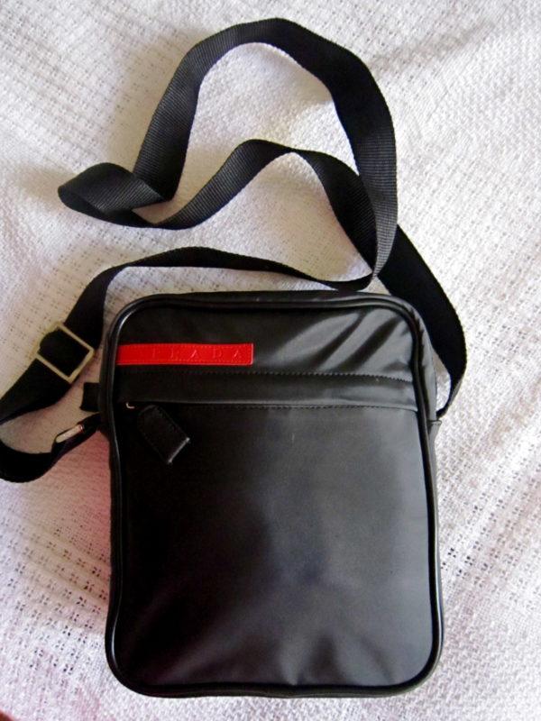Prada Black Nylon Crossbody Bag