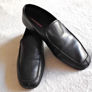 Prada Classic Black Men's Shoes