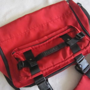 Roots Red Messenger Bag