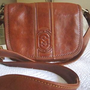 Marino Orlandi Brown Leather Crossbody Bag