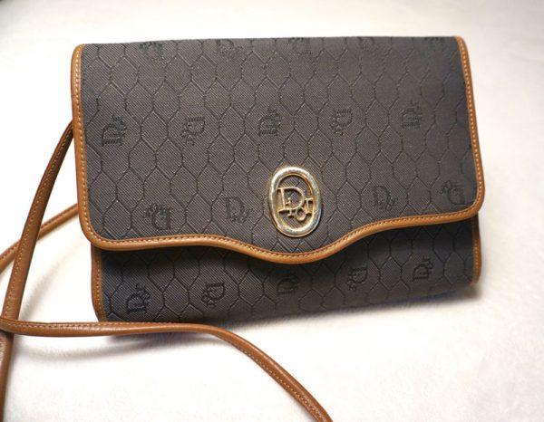 Christian Dior Vintage Signature Crossbody Bag