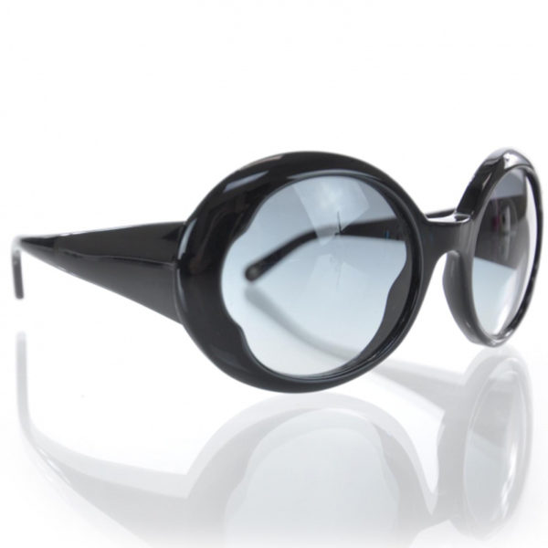 Chanel Black CC Sunglasses